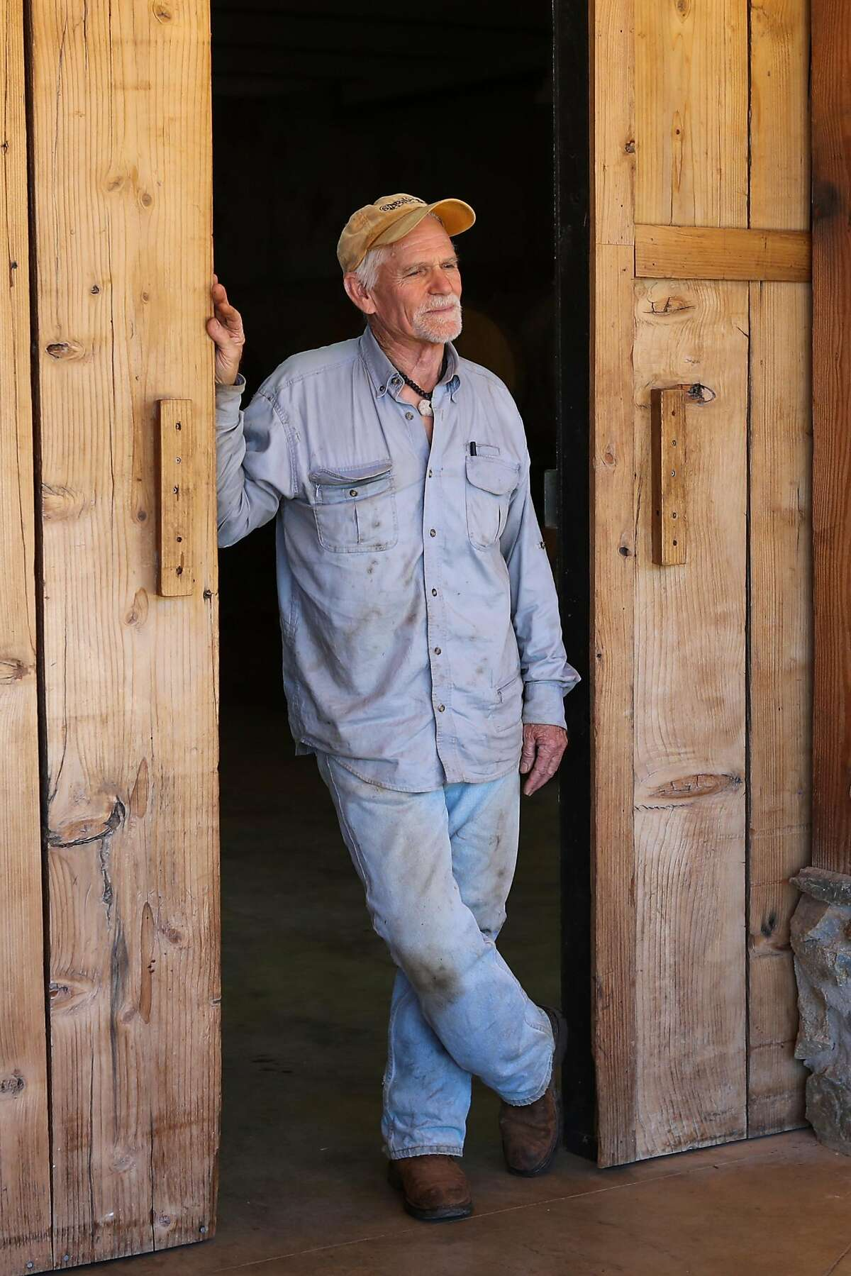 Owners Phil Starr stand for a portrait at Sierra Starr winery in Grass Valley, California, on Thursday, Sept. 1, 2016.
