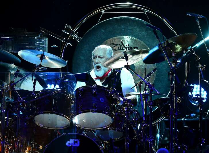 Mick Fleetwood of Fleetwood Mac fame is on tour with his blues band.