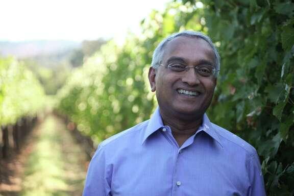 Dr. Medaiah Revana has four wine labels. His biggest success: the 2007 Revana Cabernet Sauvignon.