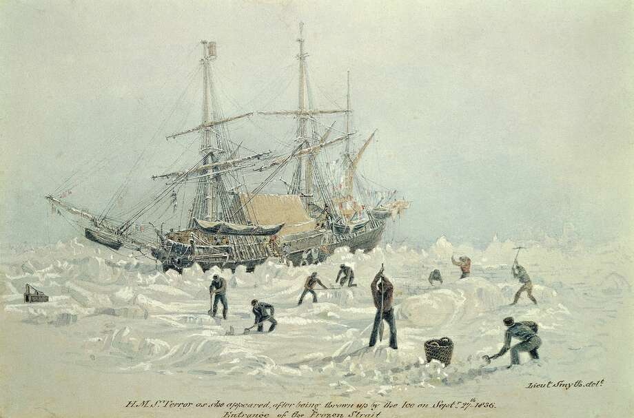 A doomed 1845 expedition to the Arctic killed 129 men. Now the ship's artifacts have been found 'frozen in tim