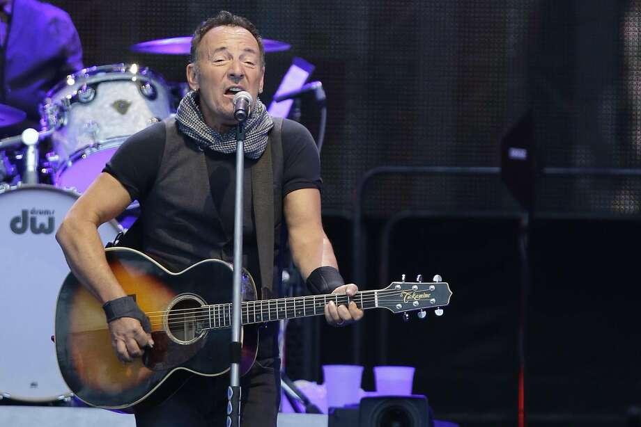 Bruce Springsteen Photo: Gregorio Borgia, Associated Press
