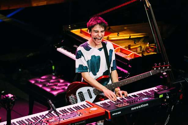 Jacob Collier is a 21-year-old jazz prodigy from London who will be performing at this year's Monterey Jazz Festival.
