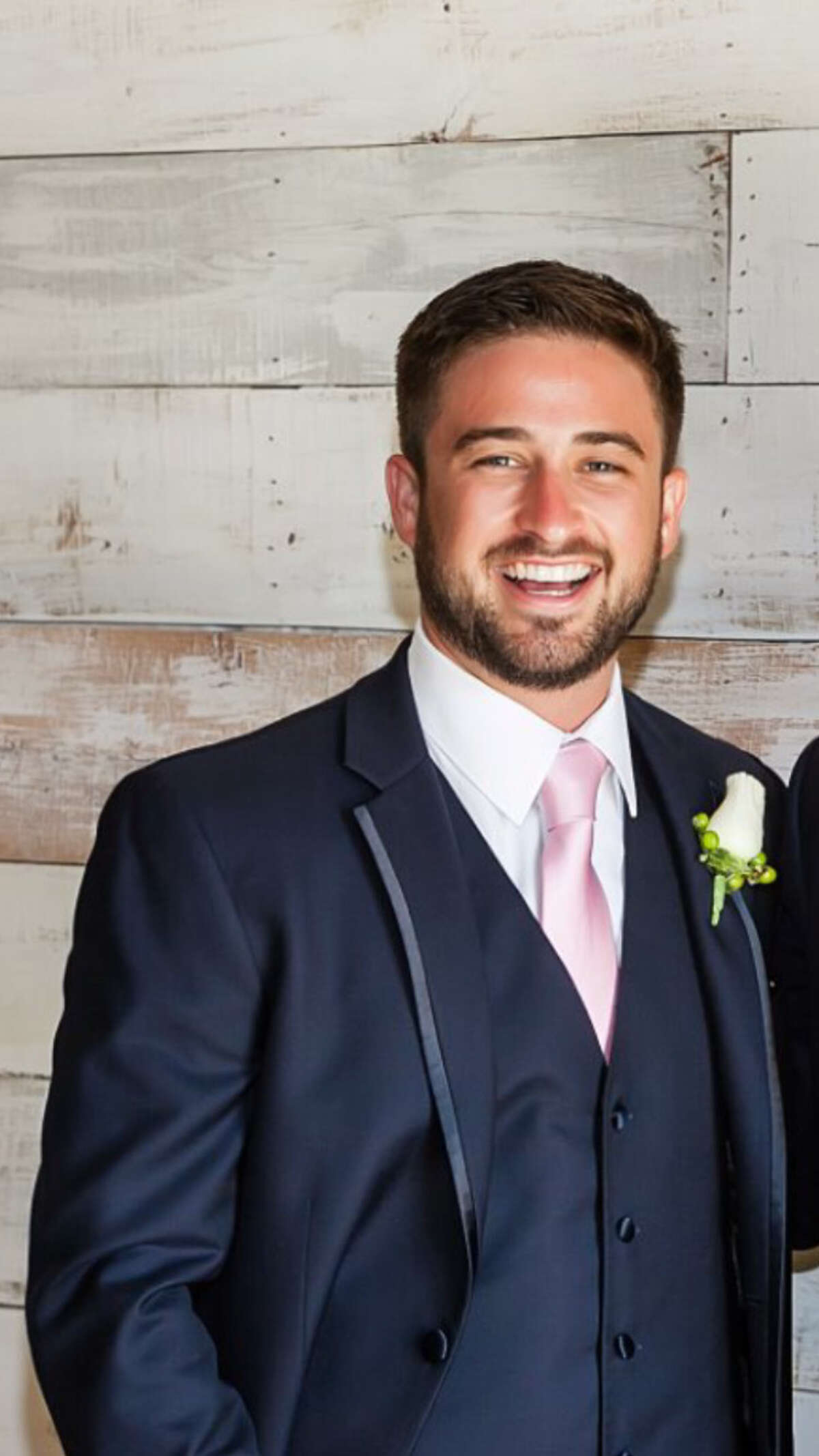 Collin Campbell at a 2016 family wedding.
