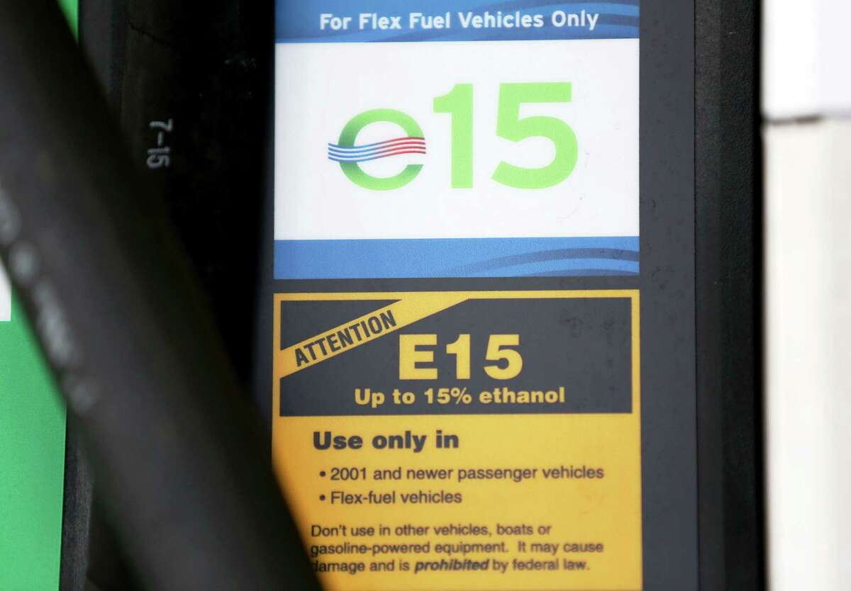 Murphy USA on Crosstimbers Street is one of the retail fueling stations that provides E15 fuel in the Houston area Saturday, Sept. 10, 2016, in Houston. E15 is a higher octane fuel available in 23 states and oil companies claim it damages car engines. ( Yi-Chin Lee / Houston Chronicle )