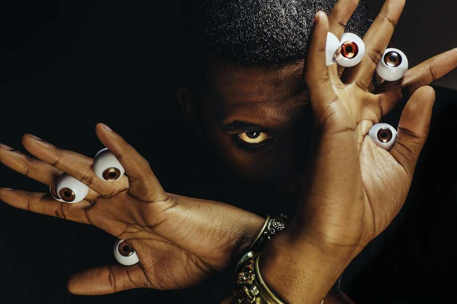Flying Lotus was among several performers at Thursday, Sept. 15, Brainfeeder concert at the Fox Theater in Oakland. Brainfeeder is Flying Lotus' Los Angeles-based record label. Photo: Courtesy