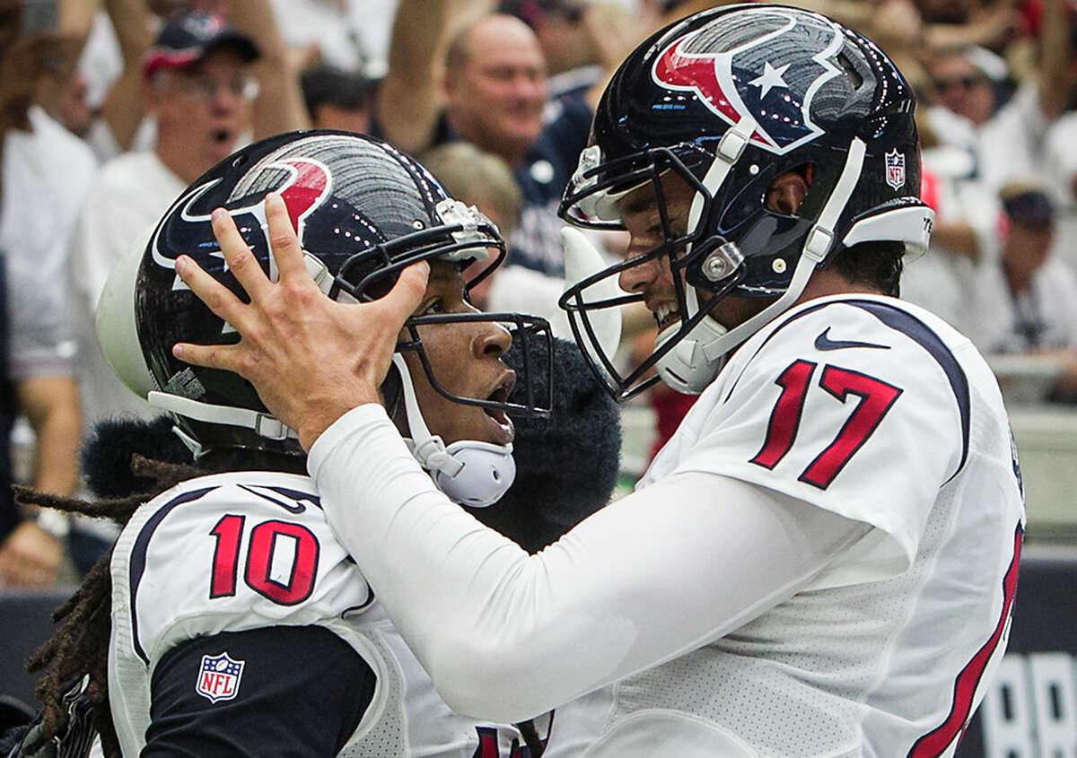 Kansas City (1-0) plus-2 ½ at Houston (1-0) Texans 24-20