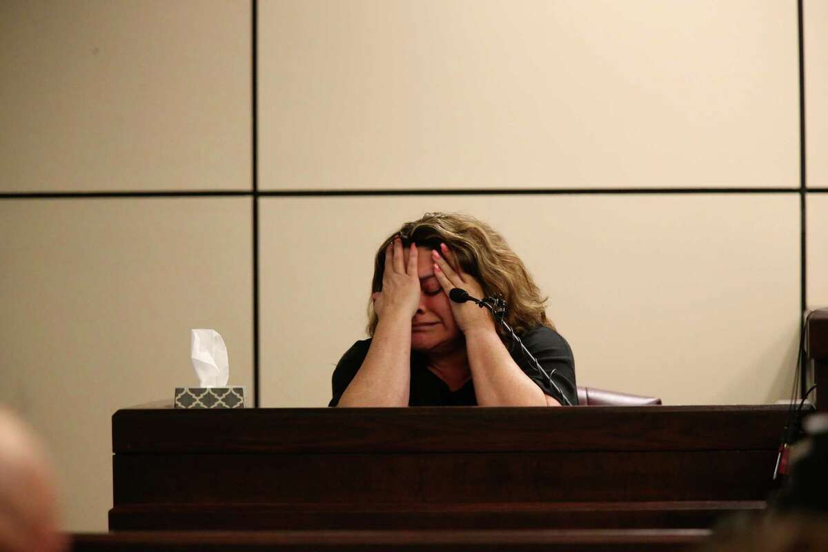 Frances Hall, convicted in the death of her husband, testifies in the sentencing phase of her murder trial. A reader criticizes the sentenced reached by the jury - two years.