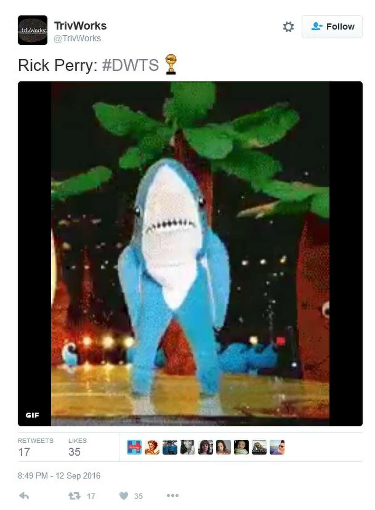 @TrivWorks Rick Perry: #DWTS