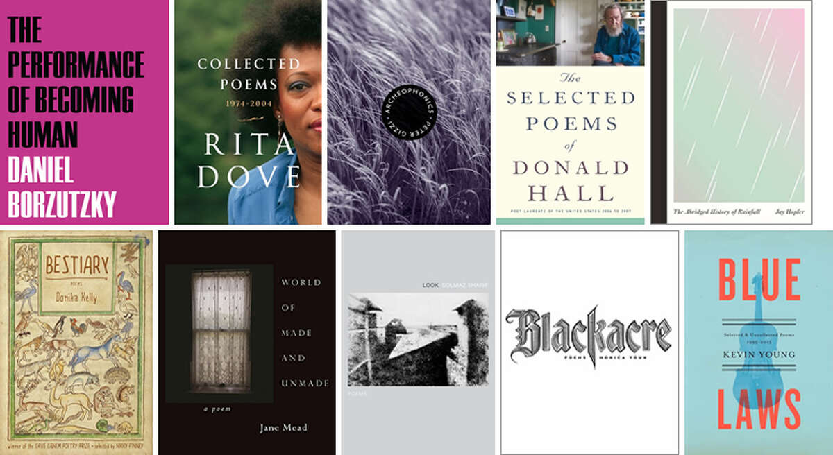 The 10 poetry collections on the National Book Award longlist.