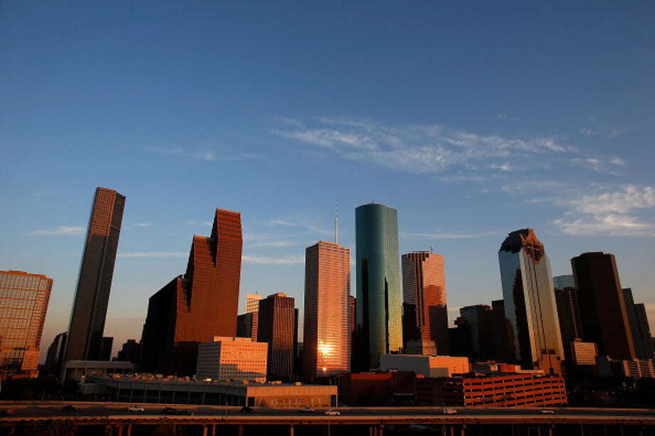 HOUSTON, TX - MARCH 26:  A view of the Houston skyline at dusk on March 26, 2013 in Houston, Texas.  (Photo by Scott Halleran/Getty Images) Photo: Scott Halleran/Getty Images