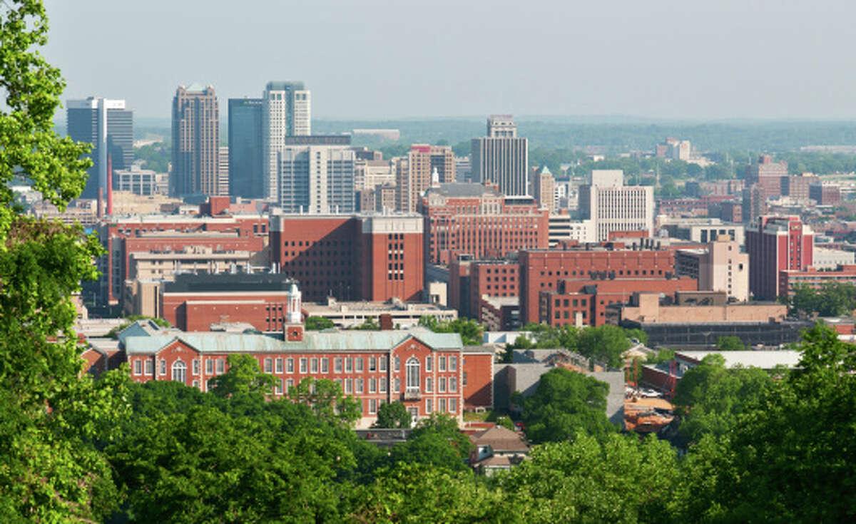24. Birmingham, AL Asthma attacks: 6,908 School days lost: 4,992 Emergency room visits: 15