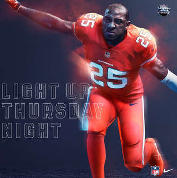 low priced 787f7 3e54a What NFL team's color rush uniforms look like ...