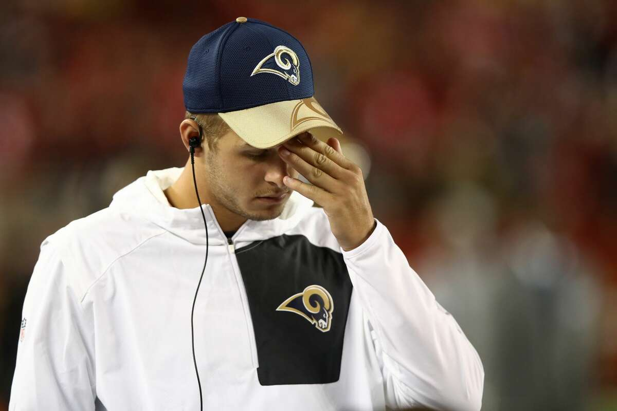 31. Los Angeles Rams (0-1): I really don't think the Rams are the worst team in the NFL, but after their performance Monday night (when Jared Goff couldn't even get on the field) I'm not as sure. Last week: 22