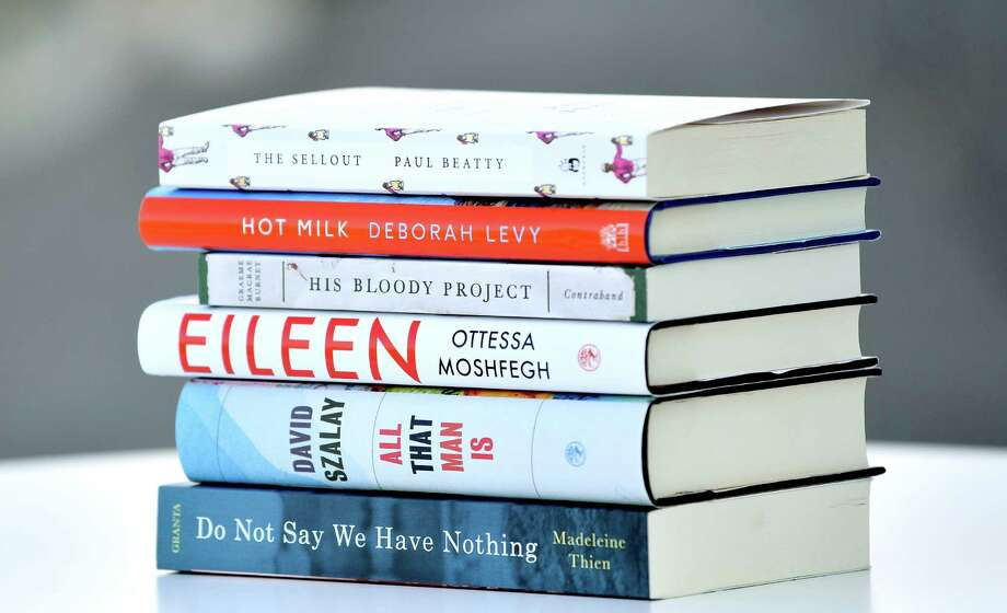 The shortlisted books for the Man Booker Prize for Fiction. Photo: Gareth Cattermole / Getty Images / 2016 Getty Images