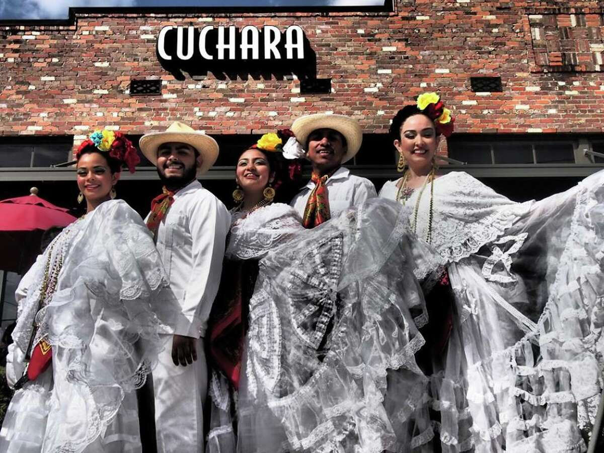 Gran Café de la Parroquia restaurant in Veracruz, Mexico, will take over Cuchara restaurant for a special pop-up on Sept. 15. The event will feature Veracruz-style food, drink and entertainment; it also marks Cuchara's fourth anniversary. La Parroquia is known for its lechero, a milky coffee, that Cuchara serves. Shown: scenes from a previous La Parroquia pop-up at Curchara.