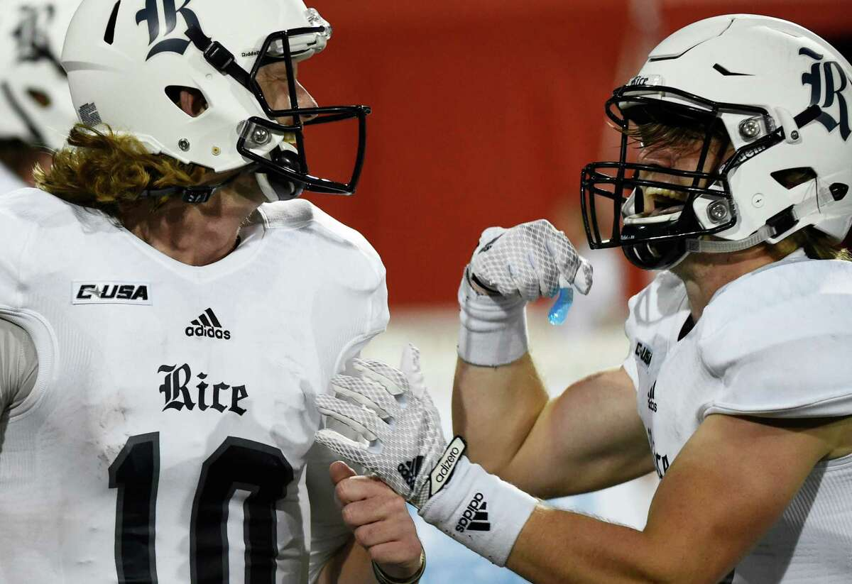 No. 21 Baylor at Rice, 7 p.m. Friday (ESPN) The eyes of the nation will be upon the Owls, and that's not necessarily a good thing right now as Rice has dropped a pair of one-sided games to start the season. The Owls don't appear on ESPN too often, and this is their chance to shine, albeit facing a most uphill challenge against a Baylor team that has won its first two games by a margin of 95-20.