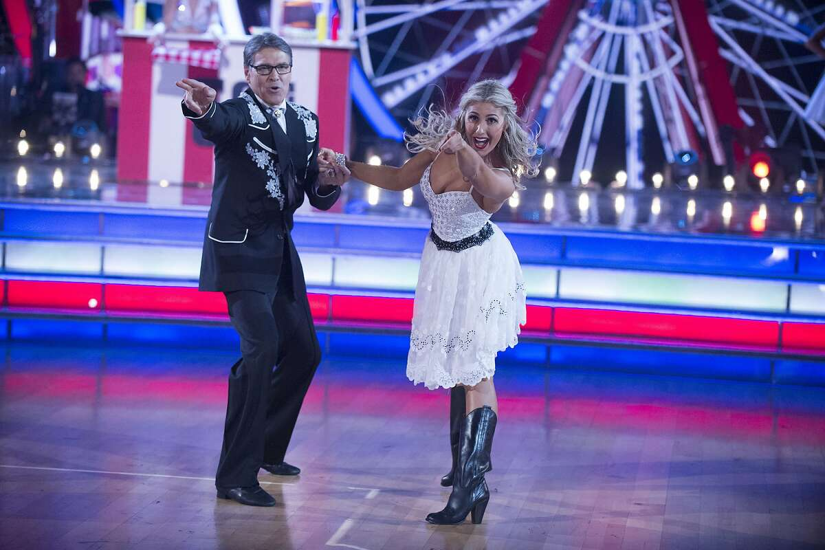 """Rick Perry's """"Dancing with the Stars"""" performance."""