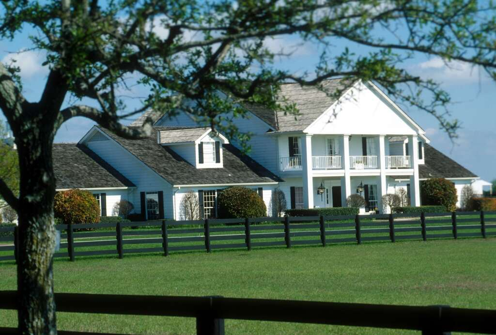 The Southfork Ranch, Dallas, Texas. Photo: Peter Bischoff/Getty Images