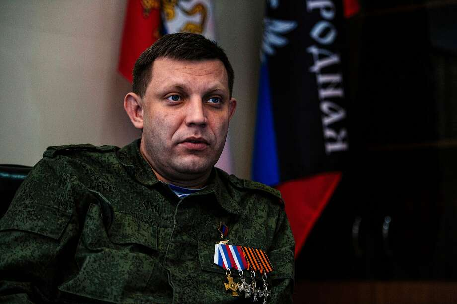 Separatist leader Alexander Zakharchenko ordered his troops to cease fire at midnight Wednesday. Photo: DIMITAR DILKOFF, AFP/Getty Images