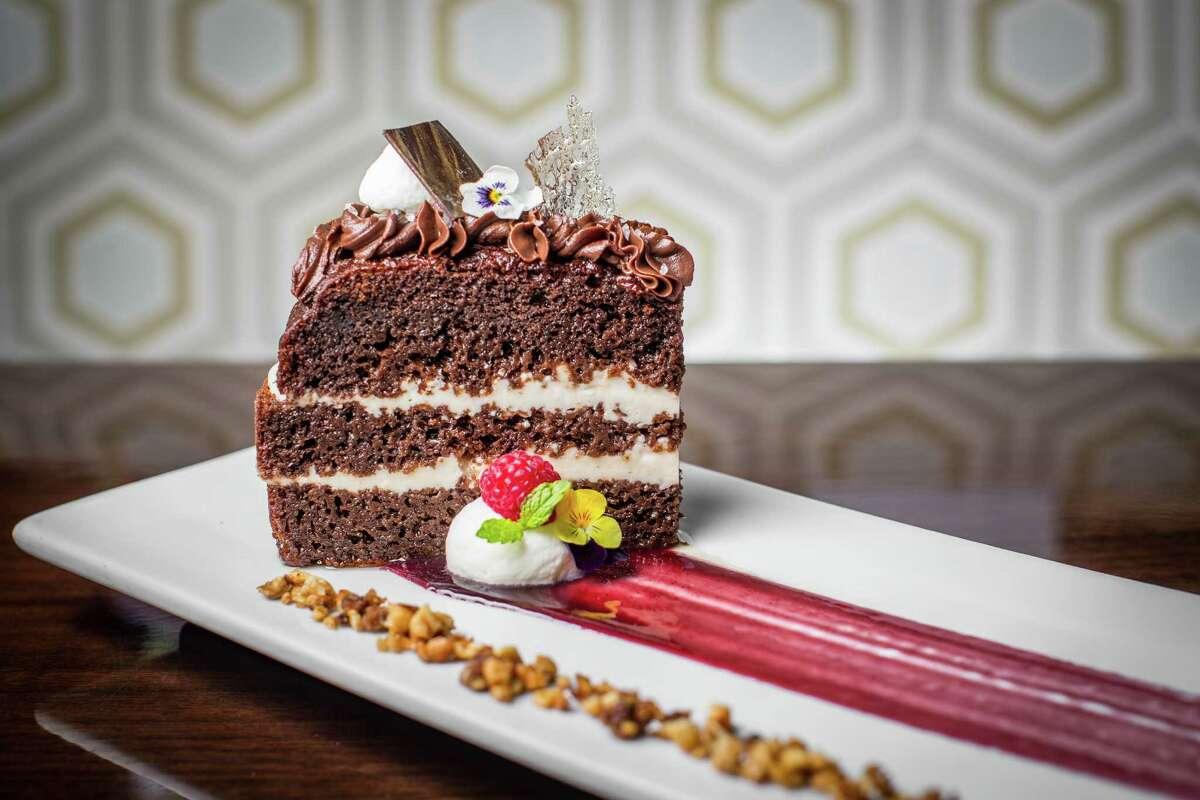 Chocolate Guanabara Temptation dessert at Latin Bites