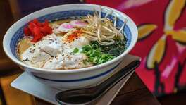 ** Top 100 Restaurants ** Izakaya's tonkatsu ramen soup. Photographed Tuesday, July 19, 2016, in Houston. ( Nick de la Torre /  )