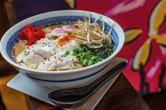 ** Top 100 Restaurants ** Izakaya's tonkatsu ramen soup. Photographed Tuesday, July 19, 2016, in Houston. ( Nick de la Torre /  )