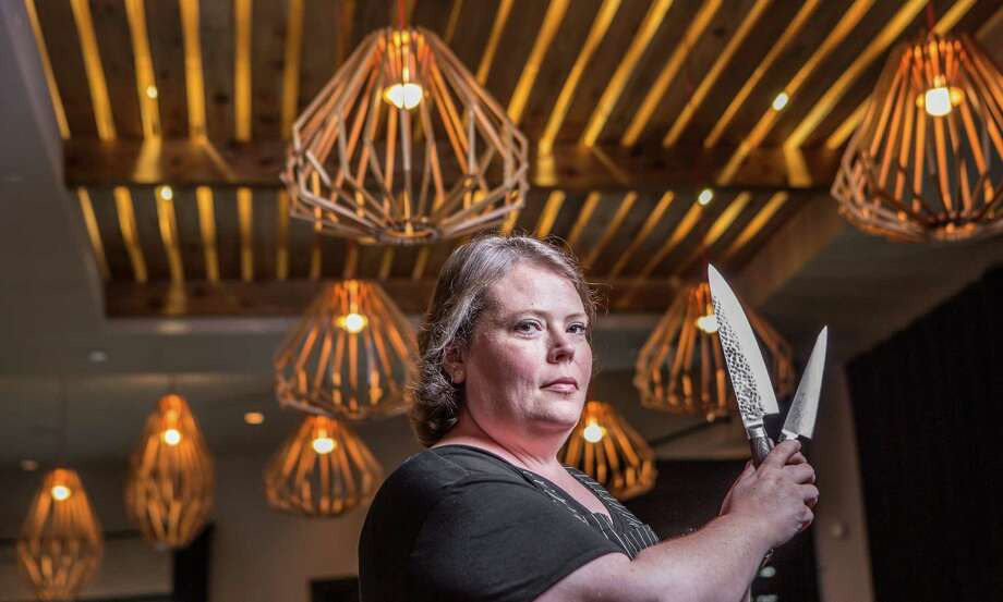 Chef Brandi Key is partnering with Houston restaurateur Claire Smith as operating and culinary director of Alice Blue, Canopy and Woodbar. Photo: Nick De La Torre, Houston Chronicle / © de la Torre Photos LLC