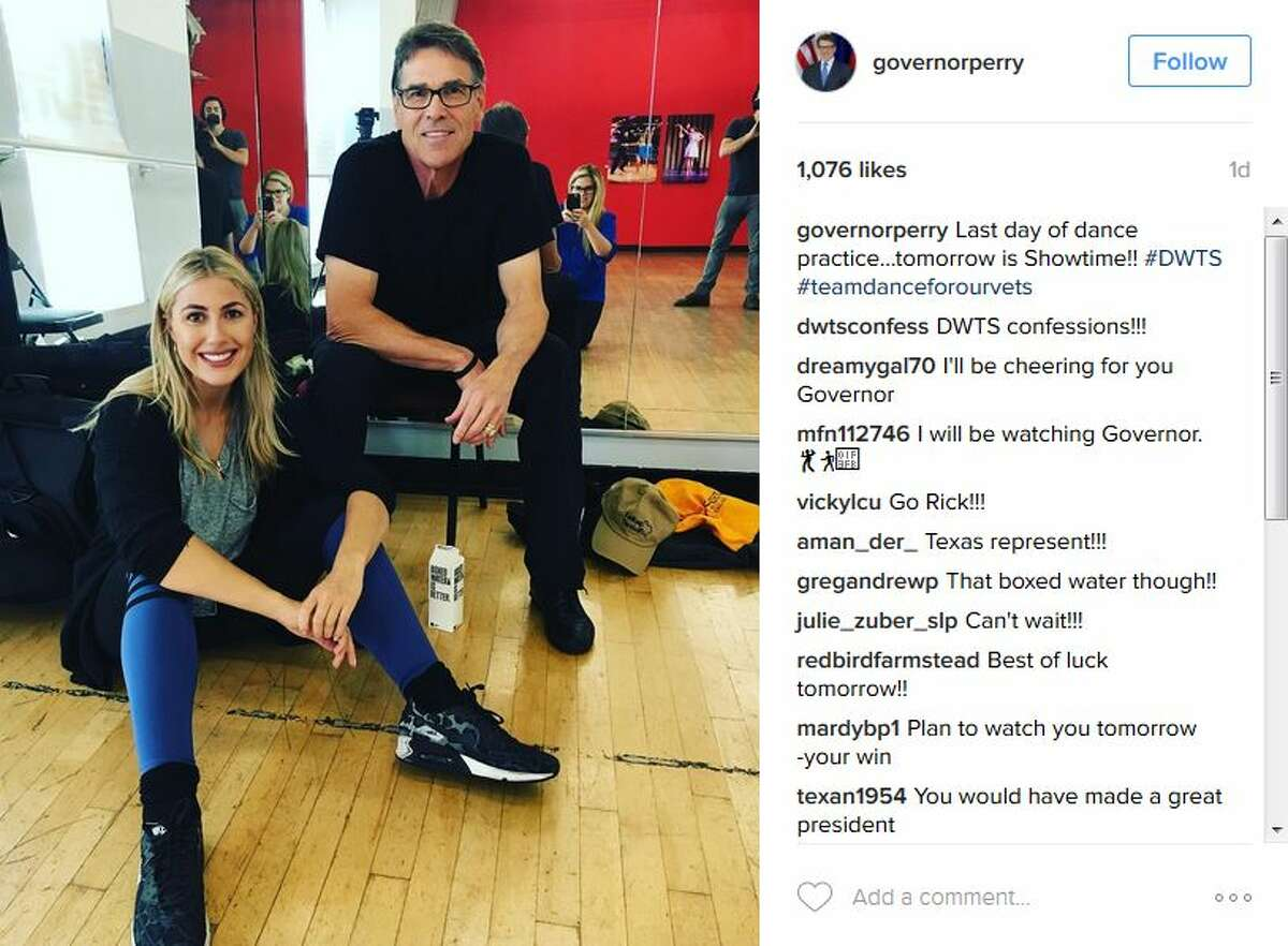 governorperryLast day of dance practice...tomorrow is Showtime!! #DWTS #teamdanceforourvets