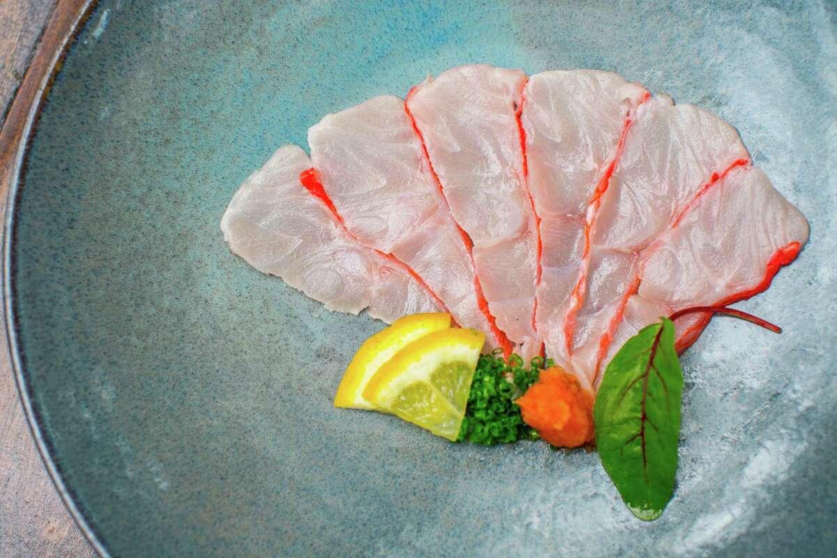 Kinmedai sashimi at Kata Robata
