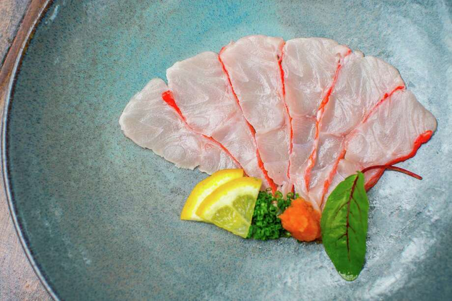 Kinmedai sashimi at Kata Robata Photo: Nick De La Torre, Houston Chronicle / © de la Torre Photos LLC