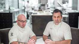 *** Top 100 restraunts** Pass & Provisions chefs and co-owners Terrence Gallivan, left, and Seth Siegel-Gardner. Photographed Wednesday, July 13, 2016, in Houston. ( Nick de la Torre )