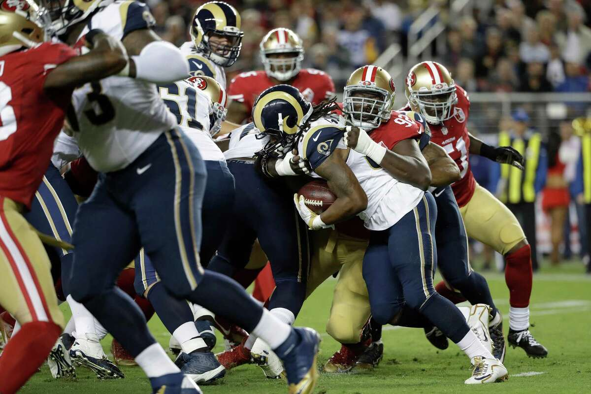 31. Los Angeles (0-1) | Last week: 29 If the Rams lose by 28 to the 49ers, imagine how bad their offense will be against Seattle in their home debut.