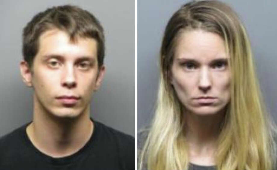 Roy Charles Sorvari, 27, pictured left, and 25-year-old Christyne Gail McDaniel were arrested and charged with hate crimes in the Sept. 7 Molotov cocktail and racist graffiti attack on an Antioch family's home. Photo: Antioch Police / /