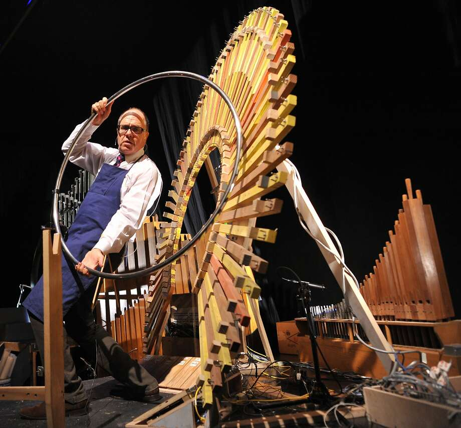 "Steve Schick in ""Schick Machine"" Photo: Chi Wang"