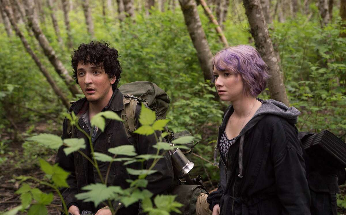 This image released by Lionsgate shows Wes Robinson, left, and Valorie Curry in a scene from