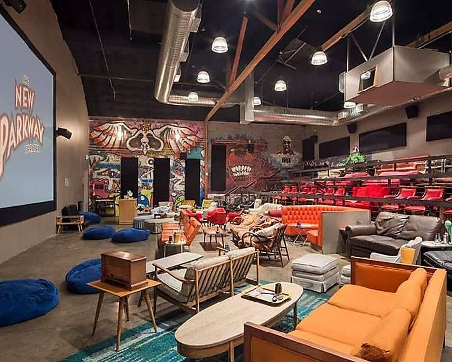 The interior of The New Parkway Theater in Oakland. Photo: The New Parkway Theater