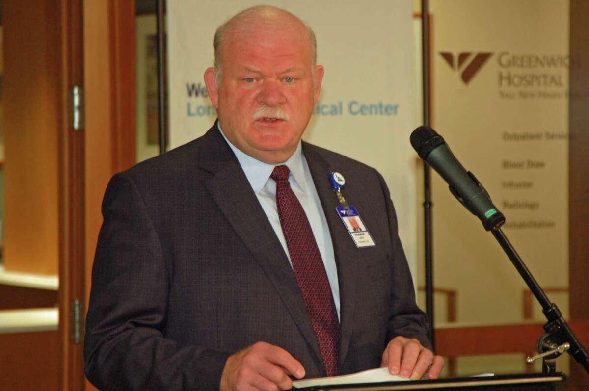Norman Roth Greenwich Hospital president