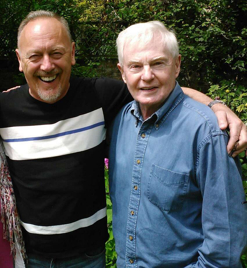Richard Clifford (left) and Derek Jacobi at their home in England. Photo: Courtesy Of Richard Clifford And Derek Jacobi