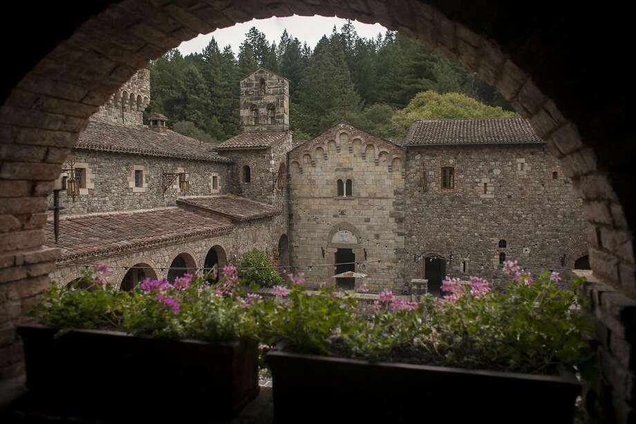 Calistoga winery Castello di Amorosa took a page from history for its reproduction of a Tuscan castle, which is a big draw for wine tourists — and bachelorettes. Photo: Sam Wolson, Special To The Chronicle