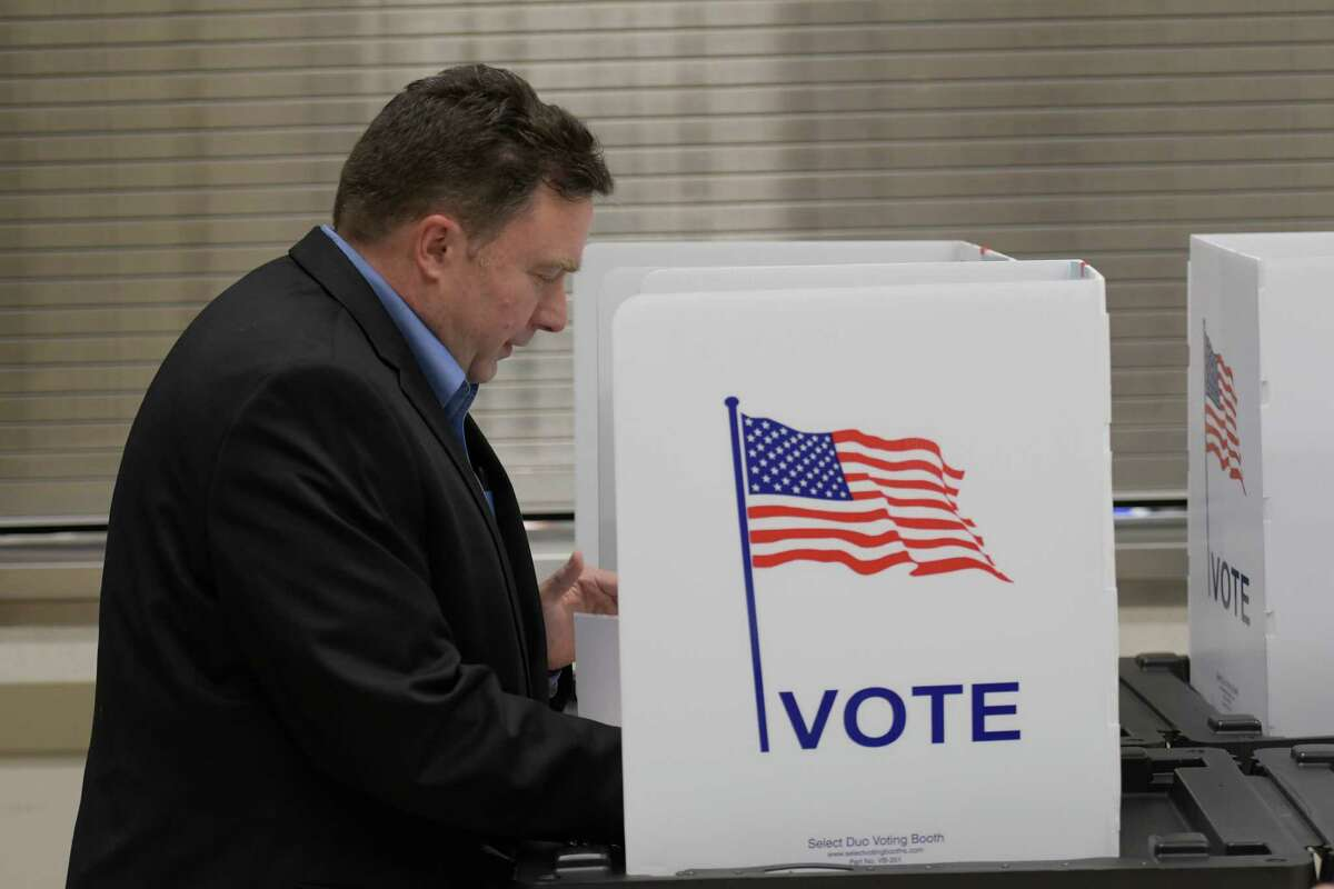 Gerard Moser, a Republican primary candidate in the 113th AD vote Tuesday Sept. 13, 2016 Malta, N.Y. (Skip Dickstein/Times Union)