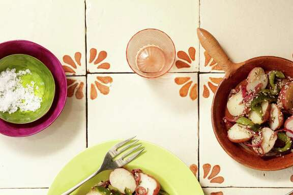 Potato and Poblano Rajas Salad