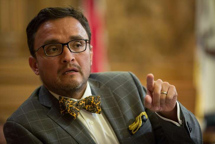 Board of Supervisors David Campos during a Board of Supervisors meeting about the Beast on Bryant project, on Tuesday, Sept. 13, 2016 in San Francisco, Calif.