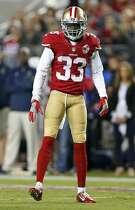 San Francisco 49ers' Rashard Robinson against Los Angeles Rams during NFL game at Levi's Stadium in Santa Clara, Calif., on Monday, September 12, 2016.
