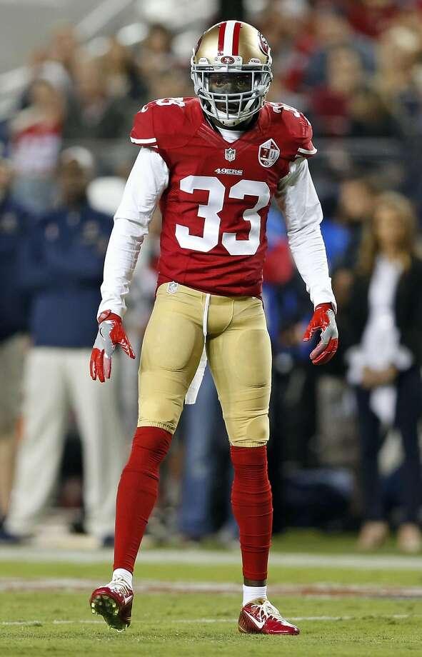 San Francisco 49ers' Rashard Robinson against Los Angeles Rams during NFL game at Levi's Stadium in Santa Clara, Calif., on Monday, September 12, 2016. Photo: Scott Strazzante, The Chronicle