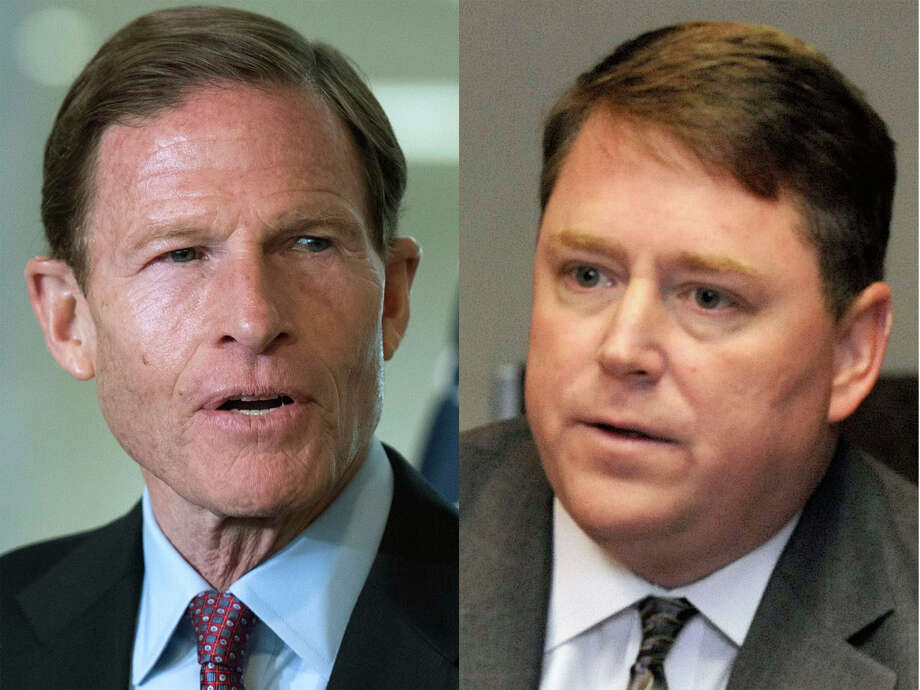 Democratic incumbent Richard Blumenthal, left, and GOP challenger Dan Carter. Photo: Contributed Photo / Contributed Photo / Connecticut Post Contributed