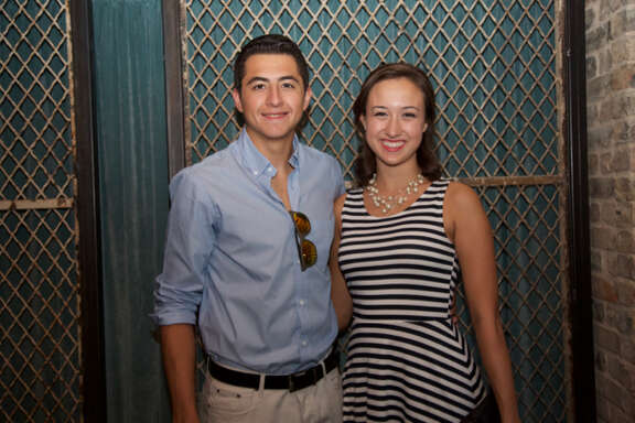 Jose Gomez and Olivia Morales are at Jazz.