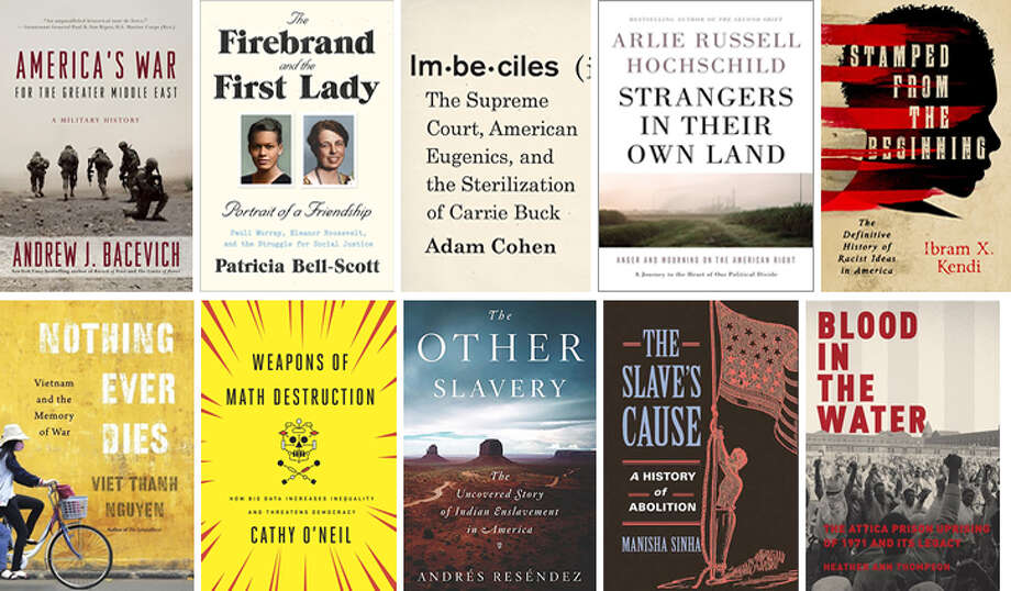 The 10 nonfiction titles on the National Book Award longlist.