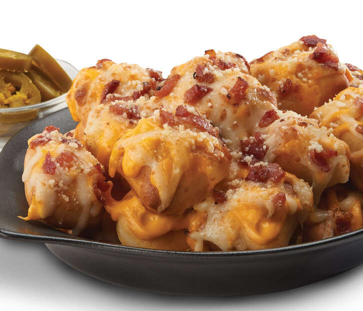 Loaded Crazy Bread Bites from Little Caesar's.