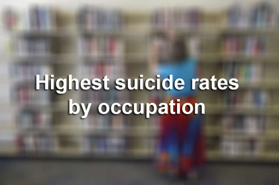 Click through to see which occupations have the highest suicide rates, according to data from the Centers for Disease Control. Photo: San Francisco Chronicle