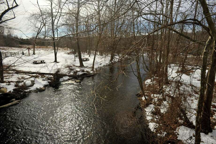 A peaceful winter view of Schenck's Island Park in Wilton. Photo: File Photo / The News-Times